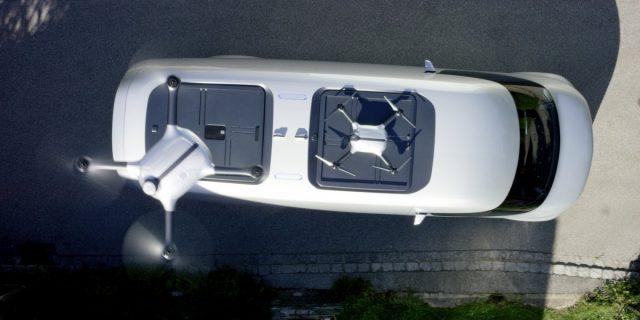 mercedes-drone-van
